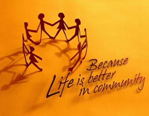 life is better in community