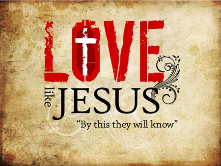 love like jesus small